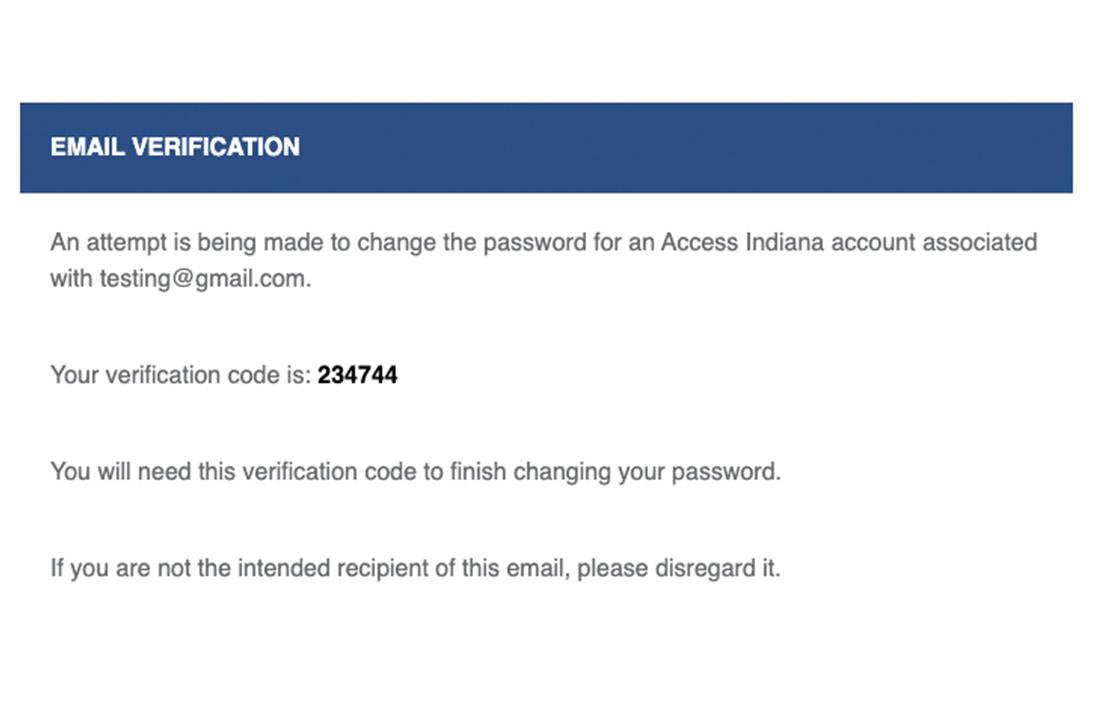 Recover Password 3