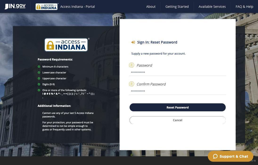 Recover Password 5