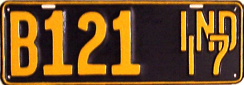 1917 License Plate