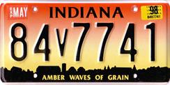 indiana bmv license plates locations
