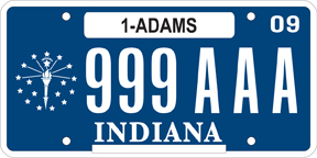 2008-Present License Plate