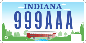 2003 - 2007 License Plate