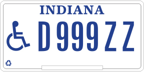 Disability License Plate