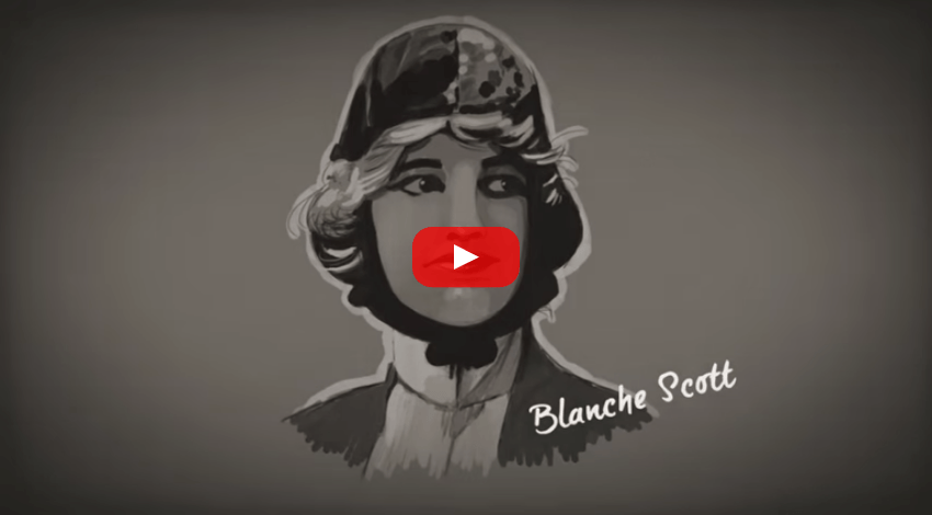 YouTube Video of the Blanche Scott