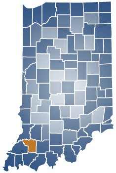 Pike County Indiana Map.Pike County In Gov
