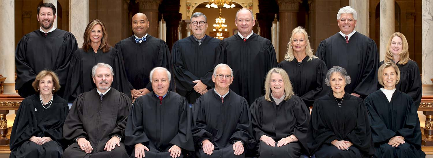 Photo of the 15 Court of Appeals of Indiana Judges