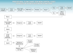 Procedural Flow Chart for Non-Capital Cases Handled by the Public Defender of Indiana