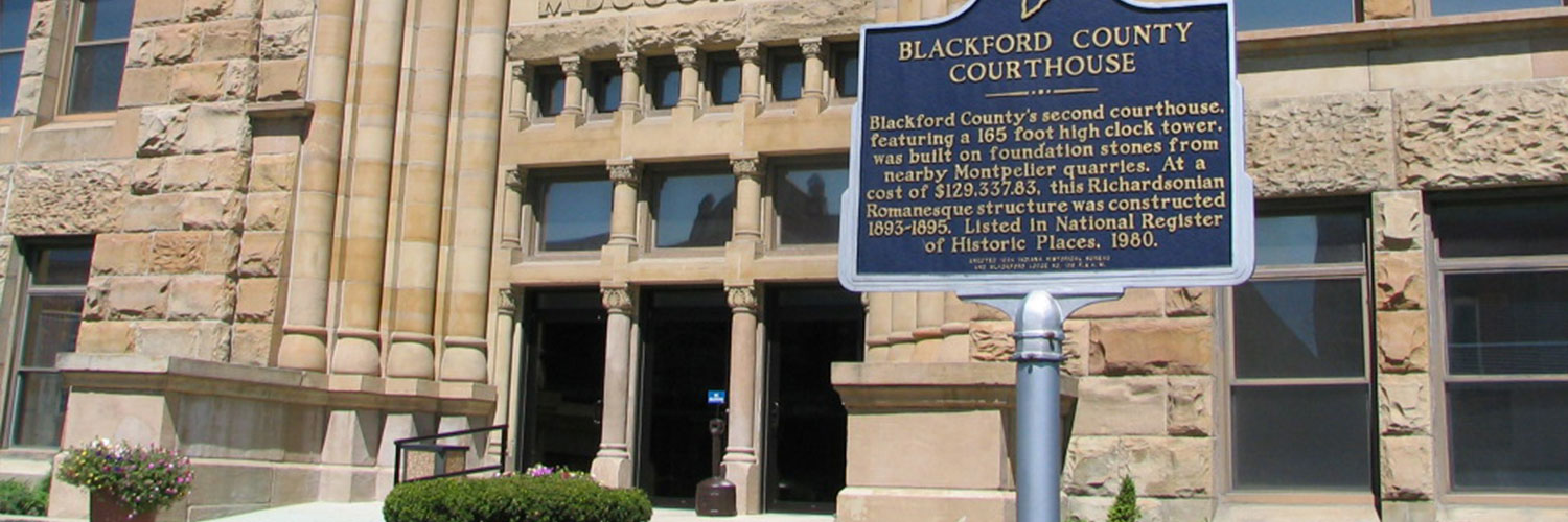 Photo of Blackford County courthouse