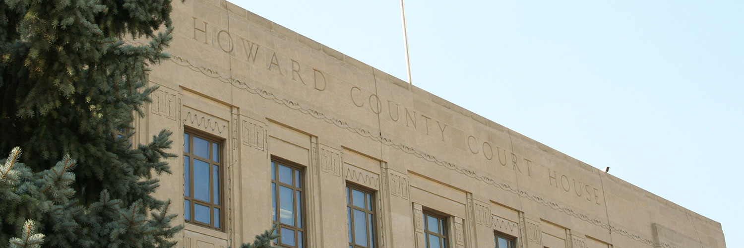Photo of Howard County courthouse
