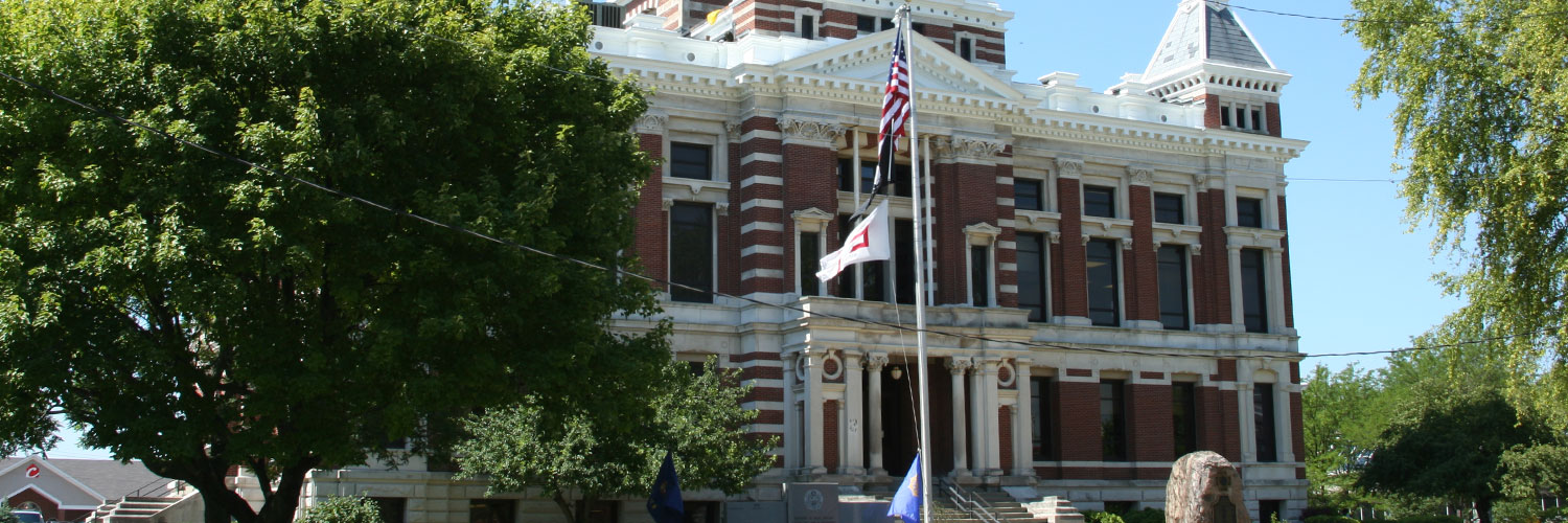 Photo of Johnson County courthouse
