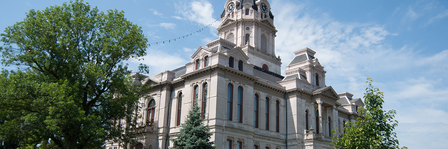 Photo of Parke County courthouse
