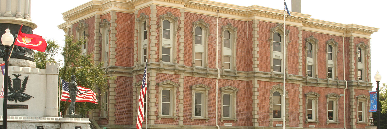 Photo of Randolph County courthouse