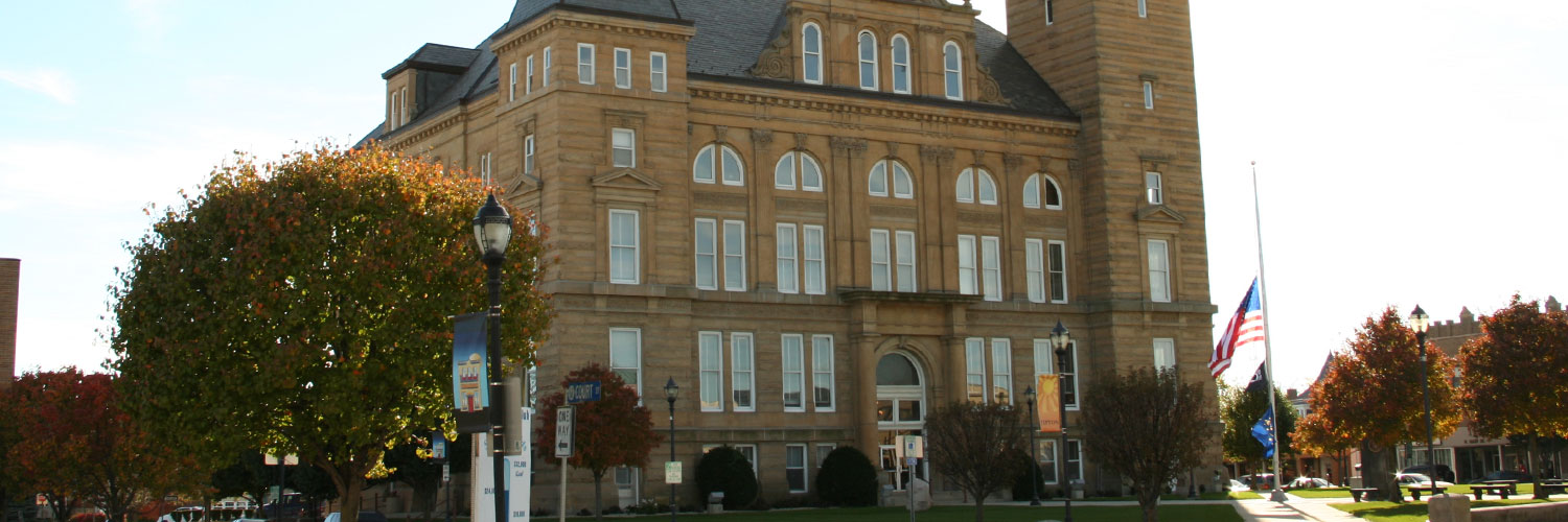 Photo of Tipton County courthouse