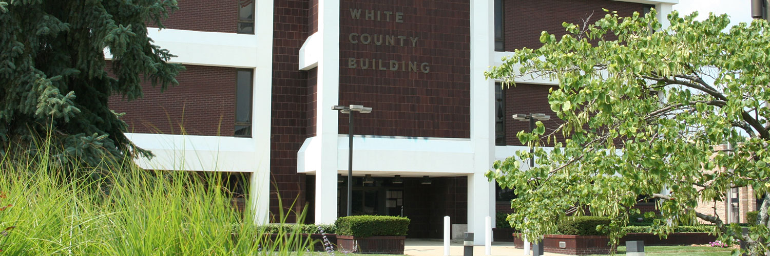 Photo of White County courthouse