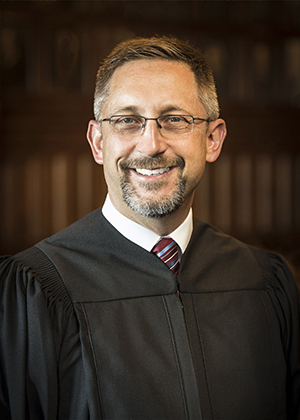 Photo of Justice Christopher Goff