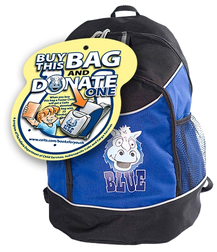 Colts BLUE Backpack