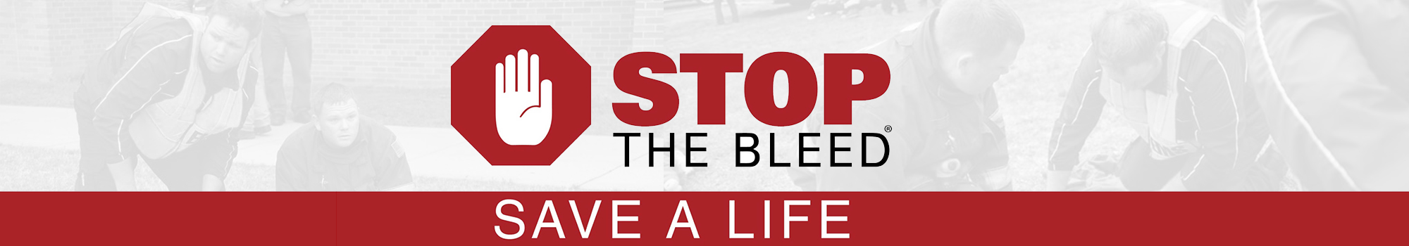 Stop The Bleed Save A Life logo