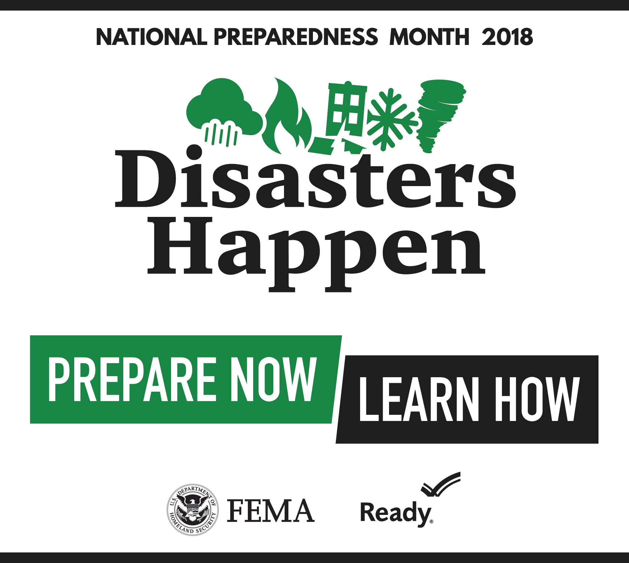 DHS: National Preparedness Month 2018 Archive