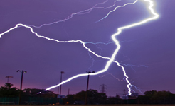 severe weather lightning two