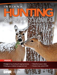 Cover of 2020-21 hunting guide