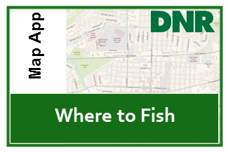 Click here to view Interactive Map of where to fish in Indiana