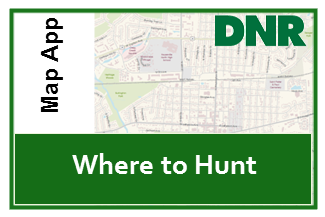 Click here to view Interactive Map of where to hunt in Indiana
