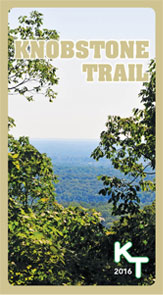 Knobstone Trail Map Cover