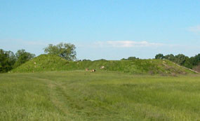 Photo by Mike Linderman, Angel Mounds State Historic Site