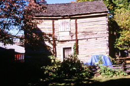 Dickinson Log Cabin (NRHP, HPF)