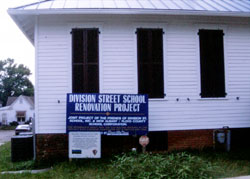 Division Street School (NRHP, HPF) - After