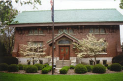 Eckhart Library (NRHP, received Historic Preservation Fund (HPF) grant)
