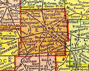 Henry County - 1895