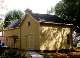 Lew Wallace Carriage House (NHL, HPF) - After