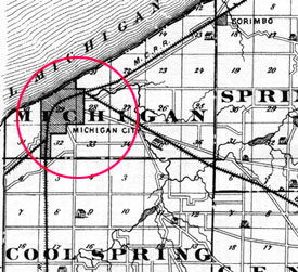 Michigan City - 1876