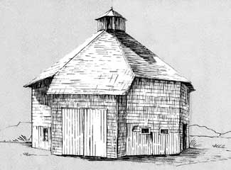 dnr round and octagonal barns