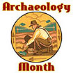 Archaeology Month Logo