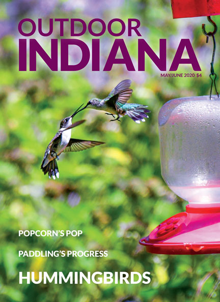 Outdoor Indiana May/June 2020 front cover