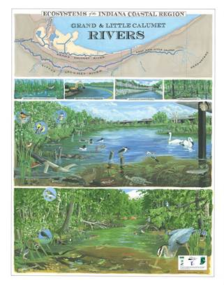 2014 Ecosystems of the Indiana Coastal Region poster