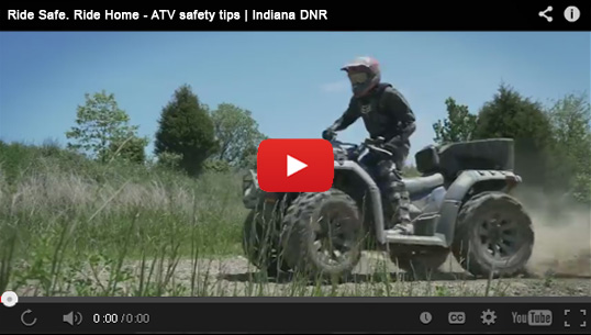 Dnr off road vehicle child helmet law for Indiana fishing license age