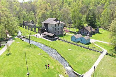 DNR: Spring Mill State Park