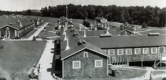 Pokagon State Park CCC Camp, 1938
