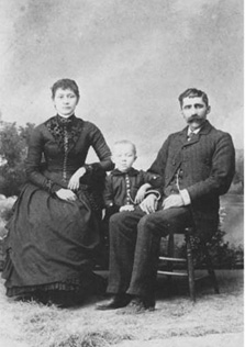 Samuel (son of Andrew and Jane Huggard) and wife Rosella and son Clarence