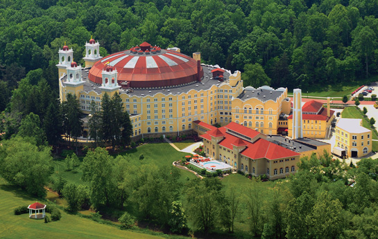 West Baden Resort at French Lick Indiana