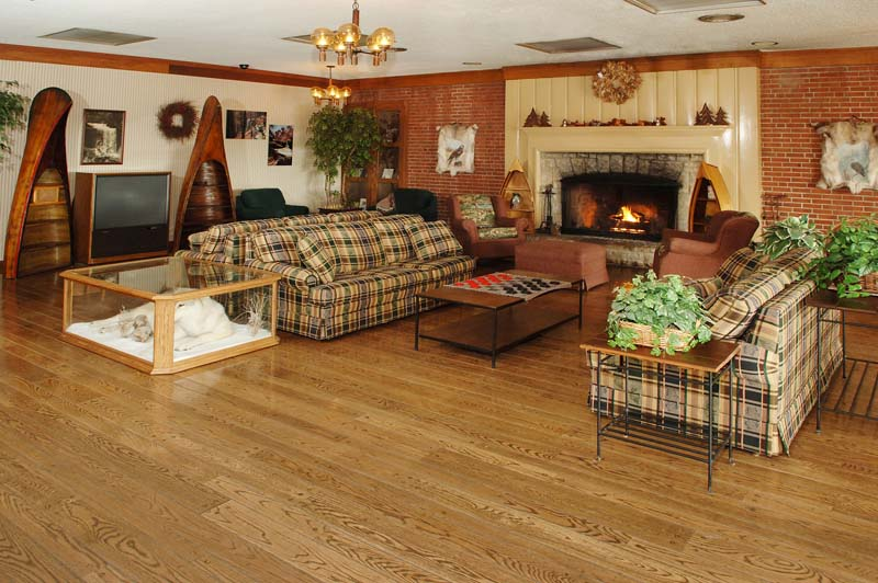 Large family room at Clifty Inn