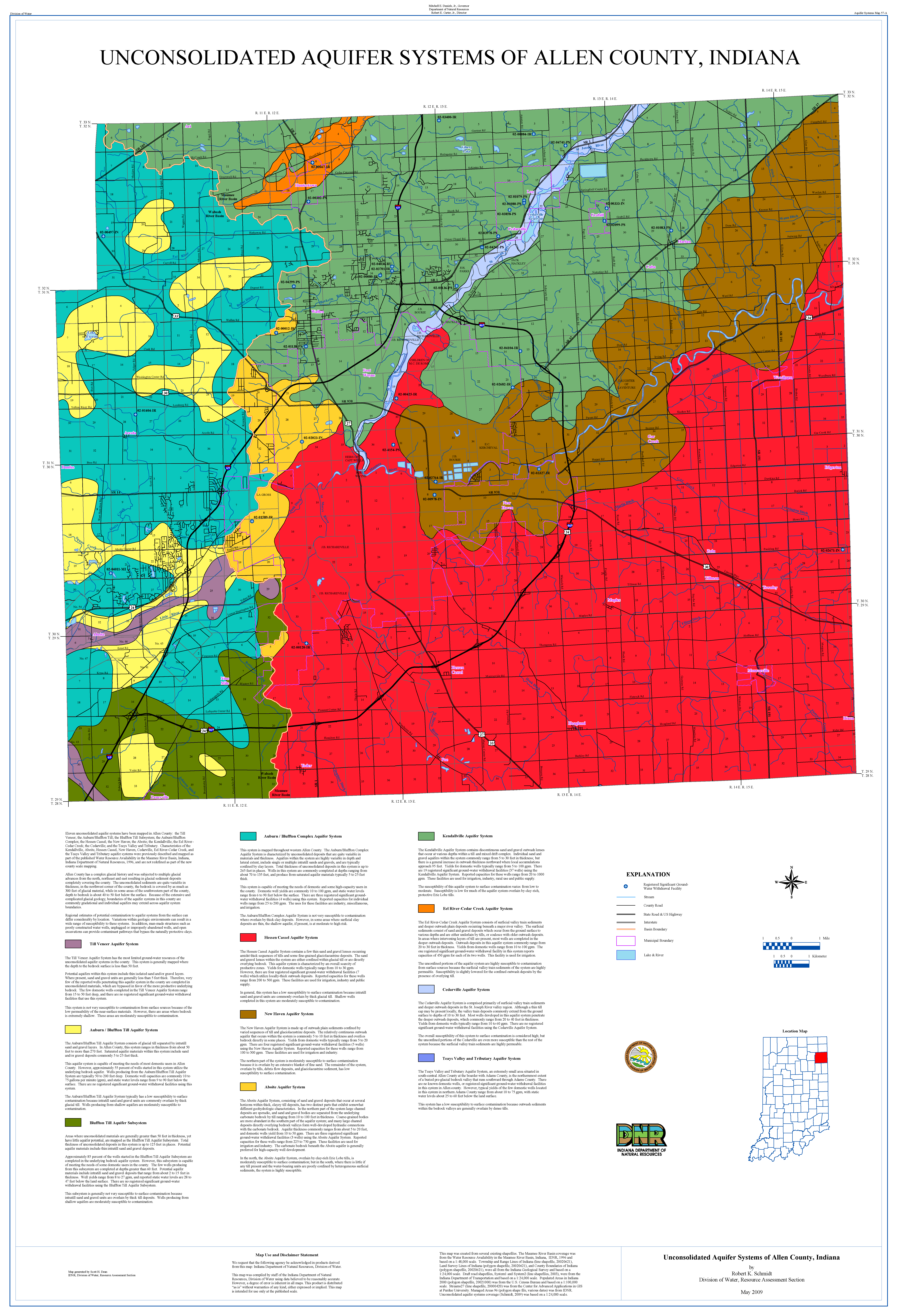Dnr aquifer systems maps 57 a and 57 b unconsolidated and bedrock pdf format gumiabroncs Images