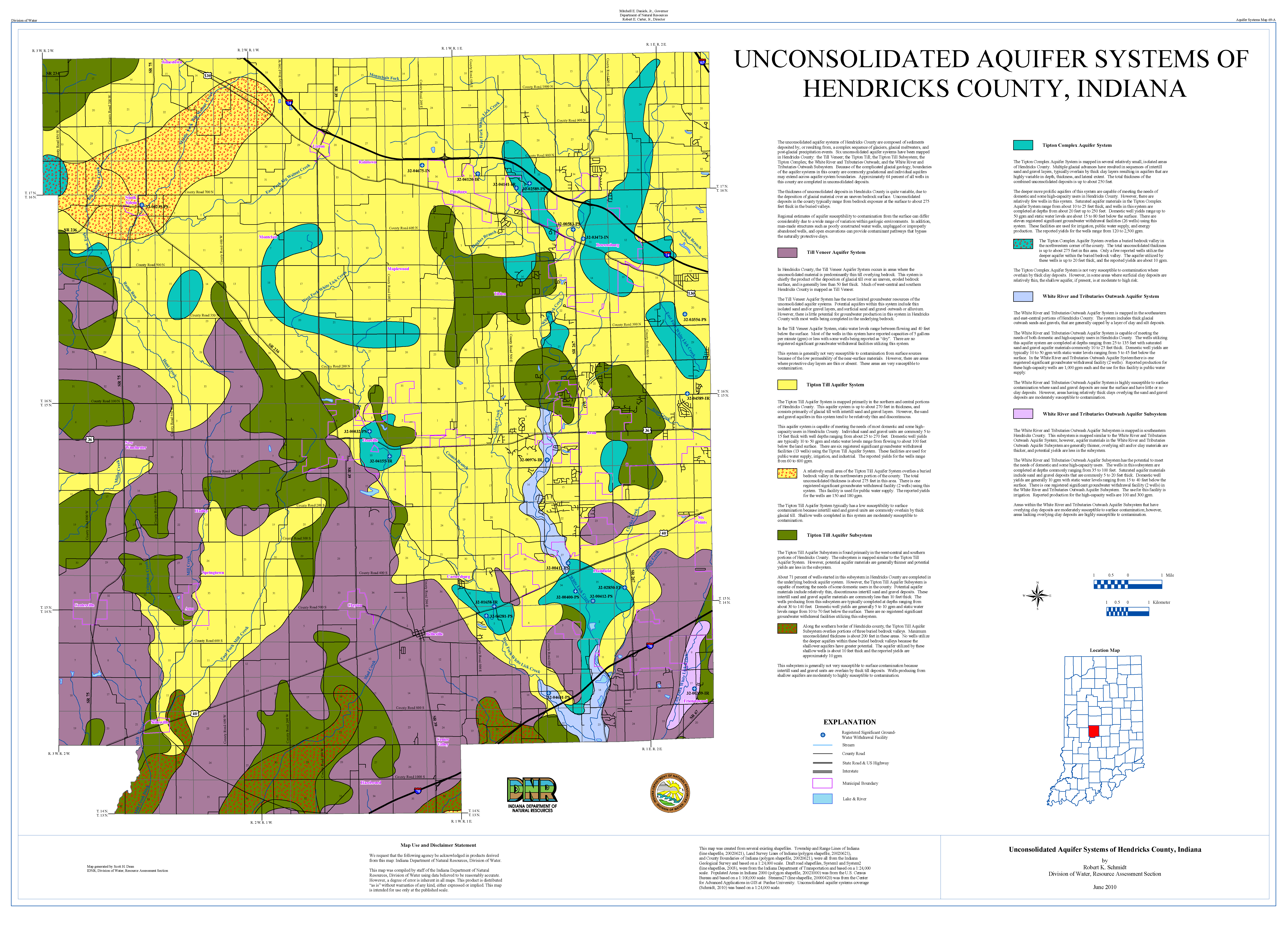 DNR: Aquifer Systems Maps 69-A and 69-B: Unconsolidated and ...
