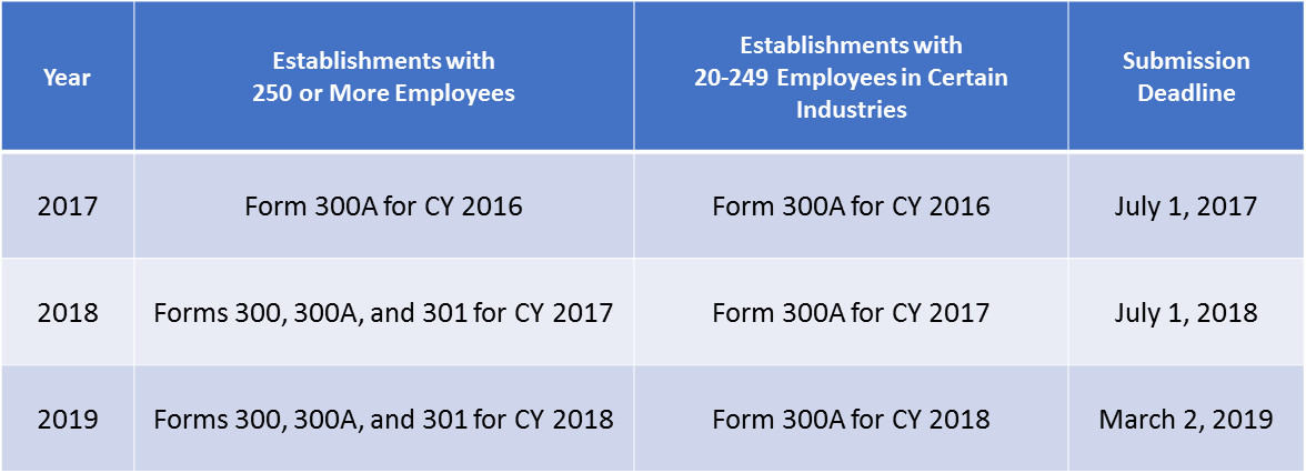 Osha 300 2017 Form