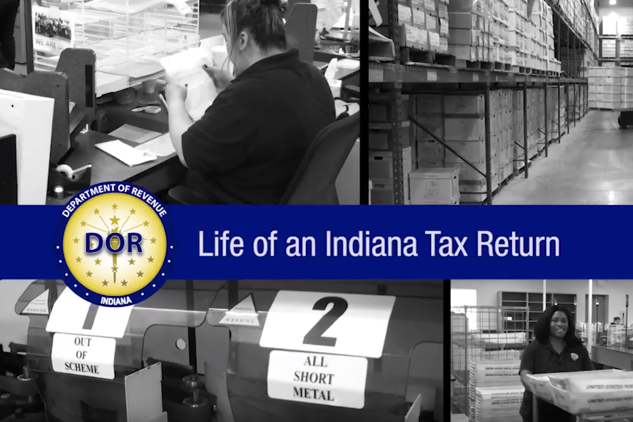 how to file your indiana tax return online