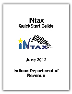 INtax Quick Start User Guide
