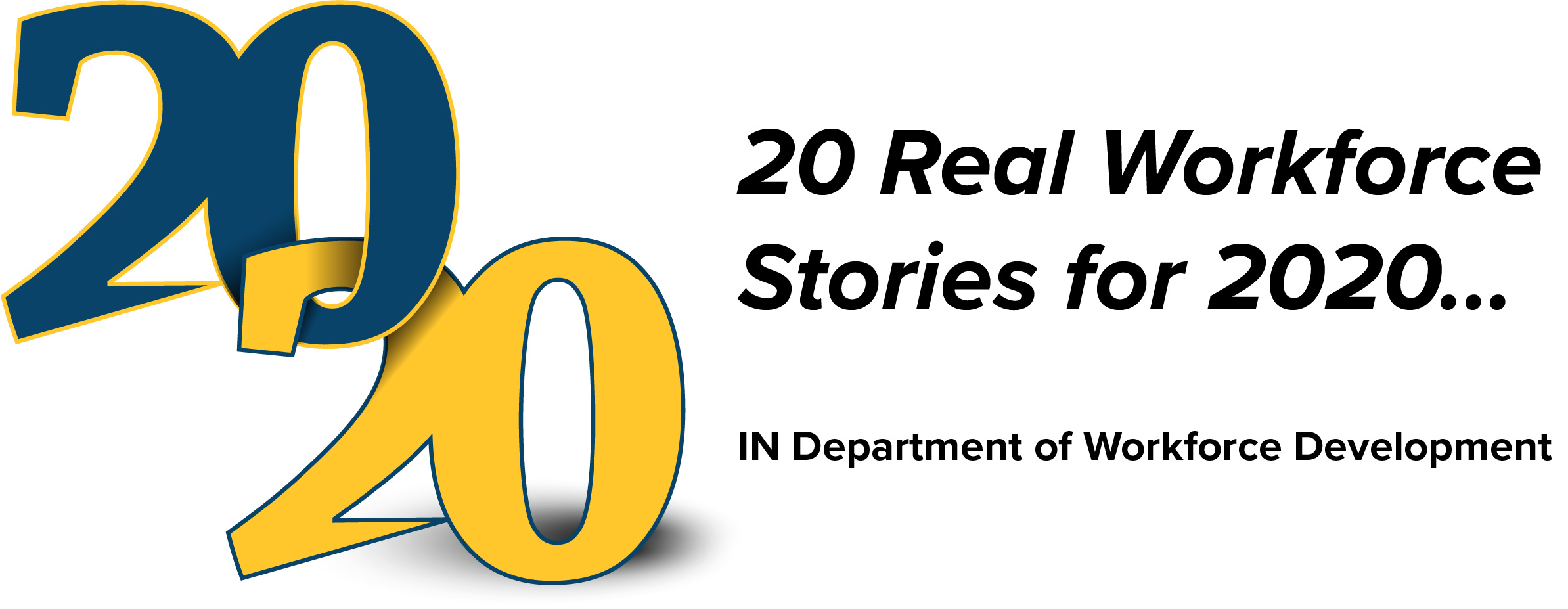 2020 Real Workforce Stories for 2020 Logo